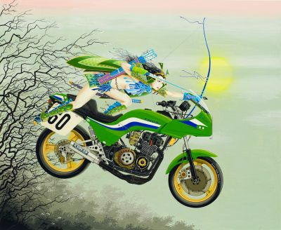 Kawasaki illustration