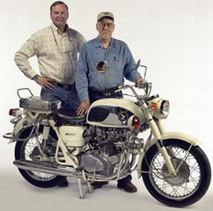 Bob Logue and Myron Myron Schroeder