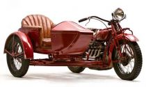 1930 Indian Four w/sidecar